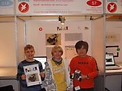 Jakob Lützow, Daniel Holdermann, Ole Ribbeck: Mathematik/Informatik Sonderpreis Schüler experimentieren - 100 €