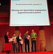 AlexanderDietz (Jugendforscht-Lehrer des Jahres2013) und KatrinMatthies (LehrerSonderpreis)