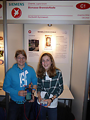 Josephine Müller, Lea Urban: Chemie, 3. Platz Jugend forscht