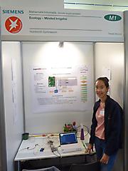 Timnah Weckner: Mathematik/Informatik: 2. Platz Schüler experimentieren