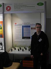 Siegfrid Grundmann: Biologie, 1. Preis Jugend forscht
