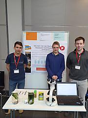 Nural Müller, Robert Mainzer, Linus Curdt: Biologie, 3. Preis Schüler experimentieren