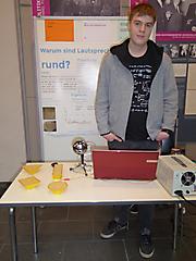 Alan Leganza: Physik, 3. Preis Jugend forscht