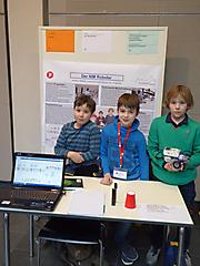 Jonathan Bialecki, Eric Vingarzan, Ferdinand Glauch: Technik, 2. Preis Schüler experimentieren