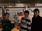 Janik Festing, Alexander Klein, Johannes Maeß: Technik 1. Platz Schüler experimentieren