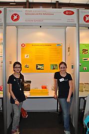 Emily Nielen, Annika Brauer: Biologie 2. Preis Schüler experimentieren