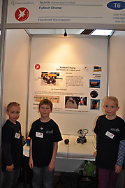 Lukas Herfort, Julian Fieting, Anna Tamm (Erpelgrundschule): Technik Schüler experimentieren