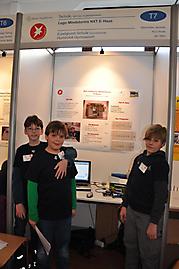 Rico Rotar, Jan Marx, Maximilian Jendrall (Erpelgrundschule): Technik 2. Preis Schüler experimentieren