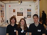 Jonas Schmidt, Sascha Wustrow, Joana Wiebach: Chemie Landessieger - 250 €, Teilnahme am Bundeswettbewerb in Essen
