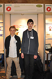 Maximilian Lindner, Paul Brachmann: Mathematik/Informatik Schüler experimentieren