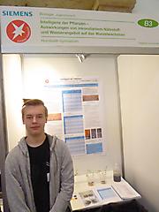 Siegfried Grundmann: Biologie 3. Platz Jugend forscht