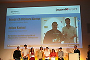 Richard Gamp, Julian Karimi, Biologie,  Jugend forscht 1. Preis, Teilnahme am Bundeswettbewerb