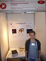 Sophia Kramer, Anna Tamm: Chemie, 3. Preis Schüler experimentieren