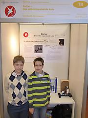 Patrick König, Jakub Rybarczyk: Technik, 1. Preis Schüler experimentieren