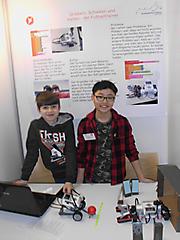 Eric Vingarzan, Felix Du : Technik Schüler exp., Teilnehmerurkunde ;