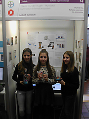 Katharina Austermann, Pia Schirrmeister, Charlotte Klar: Technik Schüler exp., 1. Platz + Teilnahme Landeswettbewerb