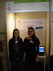 Lisa Funke, Sirin Illkyaz: Biologie Jugend forscht, 3. Platz