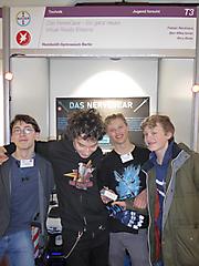 Fabian Backhaus, Ben-Mika Ismer, Rico Rotar: Technik Jugend forscht, Teilnehmerurkunde
