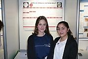 Amelie Brücher, Fatima Muhammad: Biologie Schüler experimentieren; 1. Preis + Teilnahme Landeswettbewerb