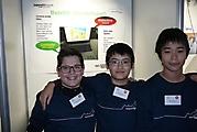 Alain Pothier, Minh-Dang Le, Vittorio Filosa: Technik Schüler experimentieren; Urkunde