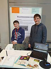 Felix und Fabian Plamper: Biologie; 3. Preis Schüler experimentieren