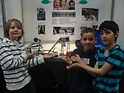 Emil Frenzel, Adrian Welteke, Caleb Frenzel: Technik Schüler experimentieren Sonderpreis
