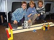 Luca Hiller, Lennard Dinter, Kaye Rademann: Technik 3. Platz Schüler experimentieren