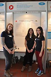 Michelle Lisy, Maria Vinokurova, Thara Ballenthin: Arbeitswelt 2. Preis Schüler experimentieren